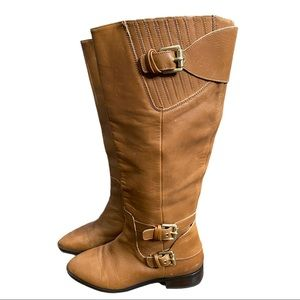 Michael Michael Kors Tan Leather Boots 7.5M